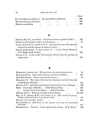 The Agricultural Journal of India PDF