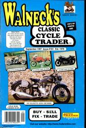 WALNECK'S CLASSIC CYCLE TRADER, SEPTEMBER 1997