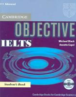 Objective IELTS Advanced Student s Book with CD ROM PDF
