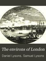 The Environs of London: pt. 2. Kent, Essex, and Herts