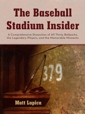 The Baseball Stadium Insider PDF