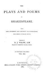 Antony and Cleopatra. Cymbeline