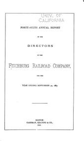 Annual Report of the Directors of the Fitchburg Railroad, to the Stockholders
