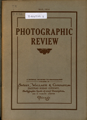 Photographic Review: A Journal Devoted to Photography, Volume 24, Issue 5