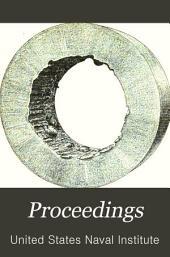 Naval Institute Proceedings: Volume 13