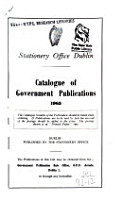 Annual Catalogue of Government Publications PDF