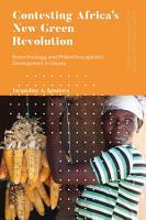 Contesting Africas New Green Revolution PDF