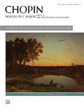 Rondo in C Major, Op. 73: Piano Duo (2 Pianos, 4 Hands) for Advanced Pianists
