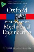 A Dictionary of Mechanical Engineering PDF