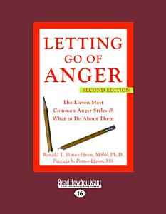 Letting Go of Anger Book