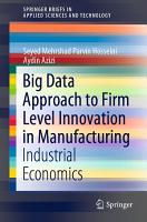 Big Data Approach to Firm Level Innovation in Manufacturing PDF