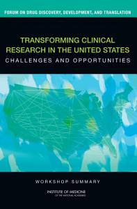 Transforming Clinical Research in the United States PDF