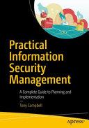 Practical Information Security Management PDF