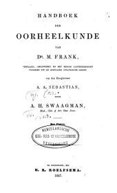 Handboek der oorheelkunde: Volume 1