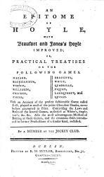 An Epitome Of Hoyle Book PDF