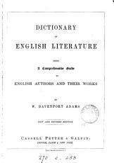 Dictiony of English literature PDF
