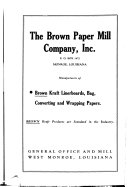 Lockwood S Directory Of The Paper And Allied Trades Book PDF