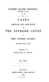 United States Reports: Cases Adjudged in the Supreme Court, Volume 107