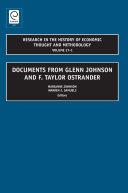 Documents from Glenn Johnson and F. Taylor Ostrander