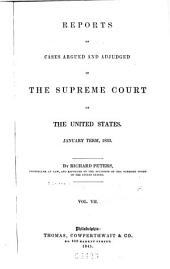 United States Reports: Cases Adjudged in the Supreme Court, Volume 32