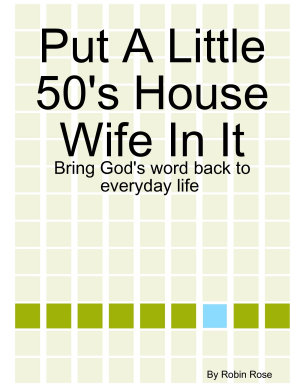 Put A Little 50 s House Wife In It