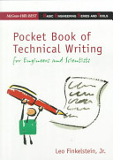 Pocket Book of Technical Writing for Engineers and Scientists