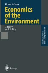 Economics of the Environment: Theory and Policy, Edition 4