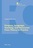 Corpora  Language  Teaching  and Resources PDF