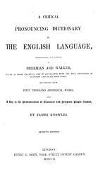 A Critical Pronouncing Dictionary of the English Language PDF
