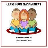 Classroom Management: A Teacher's Manual