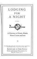 Lodging for a Night PDF