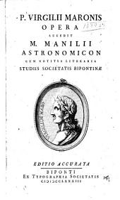 P. Virgilii Maronis Opera: P. Virgilii Maronis Bucolicon liber