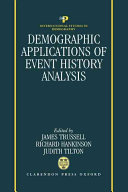 Demographic Applications of Event History Analysis