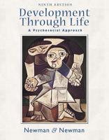 Development Through Life  A Psychosocial Approach PDF