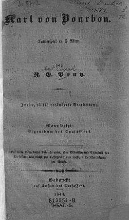 Karl von Bourbon PDF