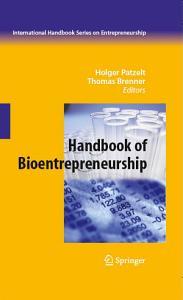 Handbook of Bioentrepreneurship
