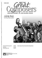 Meet the Great Composers: Activity Sheets, Book 1