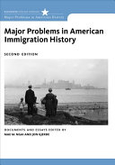 Major Problems in American Immigration History PDF
