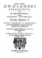 Onosandri Strategicus