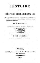 Histoire des Sectes réligeuses: Volume2