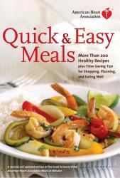 American Heart Association Quick Easy Meals Book PDF