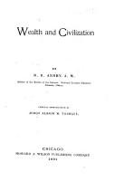 Wealth and Civilization PDF