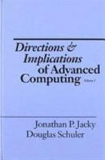 Directions and Implications of Advanced Computing   DIAC 87  PDF
