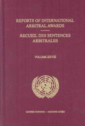 Reports of International Arbitral Awards: Volume 28