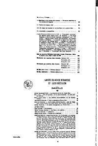 Sumario Actual de Revistas PDF