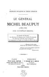 Le general Michel Beaupuy (1755-1796) avec un portrait original ...
