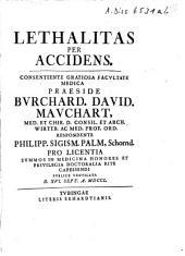 Lethalitas Per Accidens