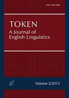 Token  A Journal of English Linguistics  Volume 2  PDF
