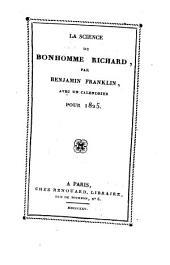 La science du bonhomme Richard, avec un calendrier pour 1825