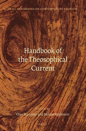 Handbook of the Theosophical Current PDF